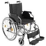 Trendmobil TMB Rollstuhl mit Steckachsensystem Faltrollstuhl Reiserollstuhl Sitzbreite 51 cm
