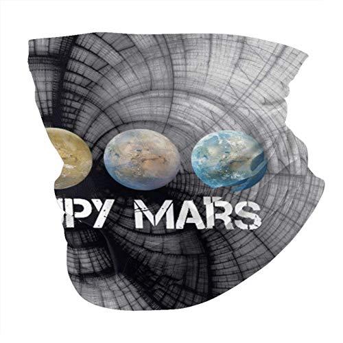 XCNGG Occupy Mars Variedad Pañuelo para la Cabeza Unisex Cuello Polaina Balaclava Máscara Antipolvo