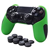 Skin Compatible for PS4 Controller Grips Pandaren Soft Silicone...