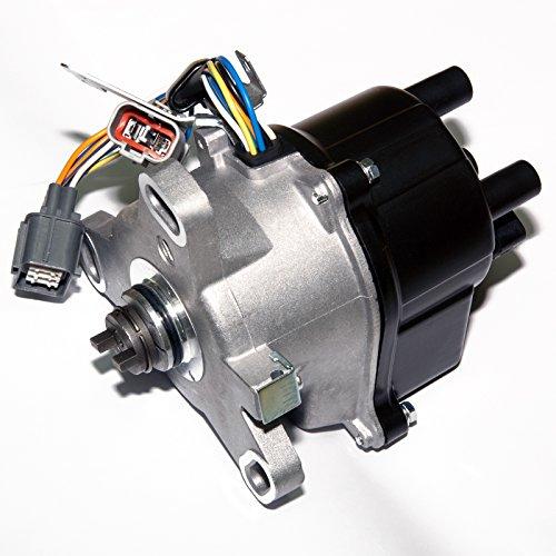 MAS Ignition Distributor w/Cap & Rotor TD-31U TD-34U TD-58U Compatible with HONDA ACCORD 2.2L