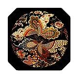 Fournitures de broderie |DIY 100% Mulberry Soie Suzhou Broderie Ensembles Motifs Imprimés Kits de Couture, Dépense Fleurs 22 Types-NO.10-40 * 40cm