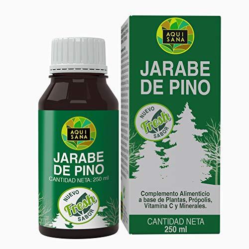 Jarabe de Pino|Complemento Alimenticio con Vitamina C, Propóleo y Minerales|Ayuda a nuestras defensas|Alivia los Síntomas de la Tos |100% Natural|250ml