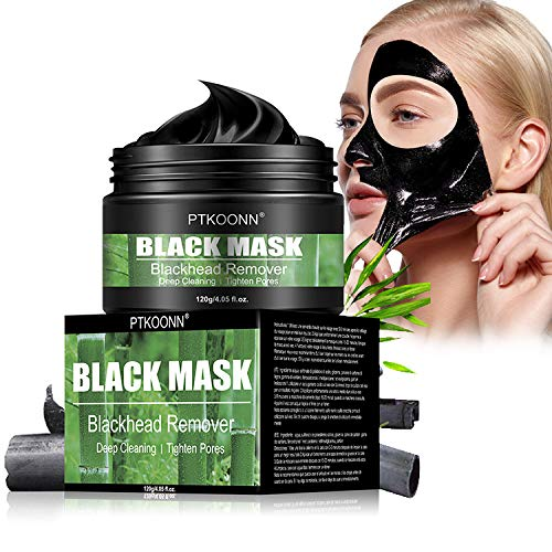 Blackhead Mask, Peel Off Mask, Blackhead Remover Mask, Face Mask with Activated Carbon, Purifying Black Face Mask, Deep Skin Clean Purifying Acne