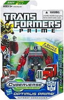 Transformers Prime Cyberverse Commander Optimus Prime Action Figure
