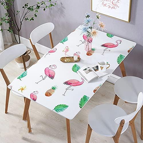 JIALIANG PVC Retro Tischdecke rechteckig wasserdicht und ölbeständig mit exquisiten Mustern für die Dekoration von Küchenhochzeitsfeiern,80x140cm