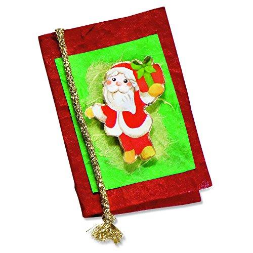 THUN - Biglietto Auguri Babbo Natale - Carta - 5,2x7,5 cm