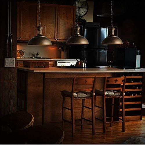 JU Gyy Home Hotel-verlichting voor kroonluchter, plafondlamp, loft-stijl, Amerikaanse stijl, reliëf wind, industrie, retro ijzer, cafés, bars, restaurants, nostalgische ophanging, lichtketting E27 220 V