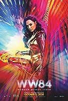 【フレーム付-黒-】映画ポスター ワンダーウーマン 1984 Wonder Woman 1984 DC A3サイズ US版 mi4 [並行輸入品]