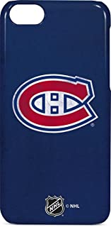 Skinit Lite Phone Case for iPhone 5c - Officially Licensed NHL Montreal Canadiens Distressed Design
