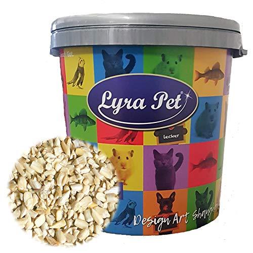 Lyra Pet® 10 kg Sonnenblumenkerne 10000 g geschält Bruch in 30 L Tonne Wildvogelfutter