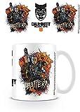 Call Of Duty: Black Ops 4mg25174taza de cerámica, multicolor