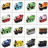 N\C Thomas & Friends FHM16 Wood Thomas, Thomas The Tank Engine Toy Engines, Wooden Toy Train