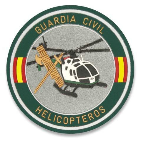 Albainox 30502 Parche Guardia Civil HELICOPTEROS Herramienta para Caza, Pesca, Camping, Outdoor, Supervivencia y Bushcraft + Portabotellas de regalo