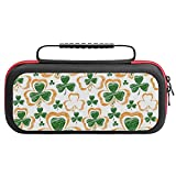 St Patrick Day with Shamrock Carrying Case...