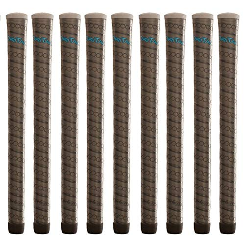 Winn Dri-Tac Wrap Ladies Gray - 9 Piece Golf Grip Bundle