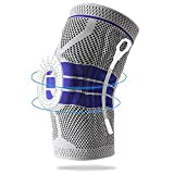 Knee Braces for Knee Pain - Knee Compression Sleeve - Best Knee Support for Men & Women – Knee Protector for Running, Basketball, Volleyball, Weightlifting, Gym, Workout, Sports, Meniscus Tear, ACL, PCL, Arthritis, Joint Pain Relief, Injury Recovery