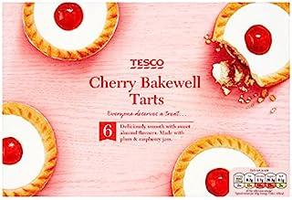 Tesco 6 Cherry Bakewell Tarts