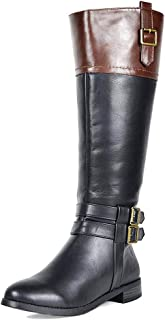 black riding boots wide calf