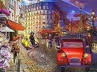 500 ピース 木製ジグソーパズルパリ手作り 装飾品 家族の壁の装飾お誕生日プレゼント 子供と大人のためのゲーム教育玩具 クリスマス プレゼント祝い 新年 ギフト