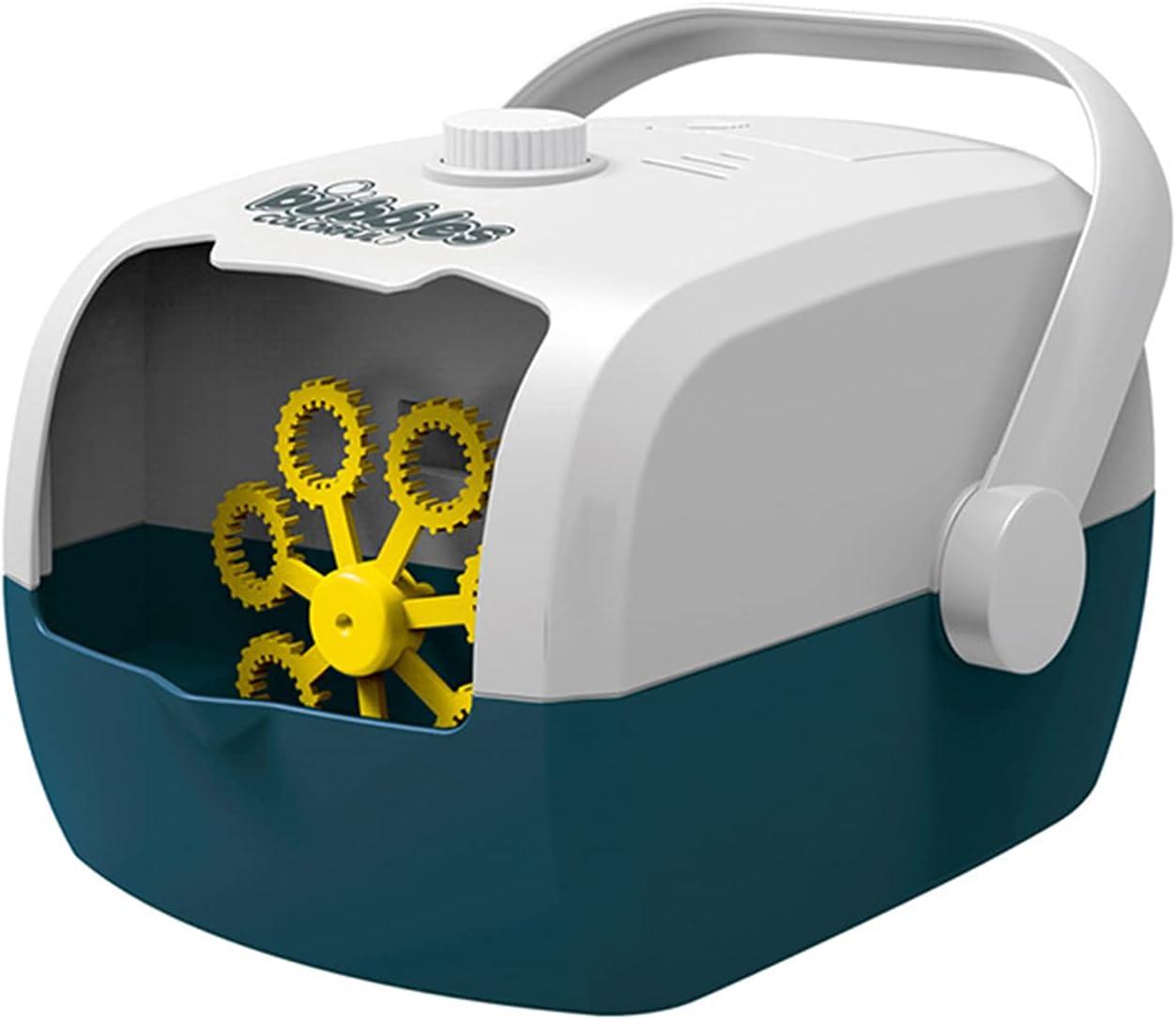 Bubble Machine,USB Automatic Bubble Blower with Bubble Water Ref