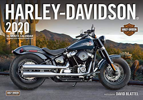 Harley-Davidson 2020: 16-Month Calendar September 2019 Through December 2020