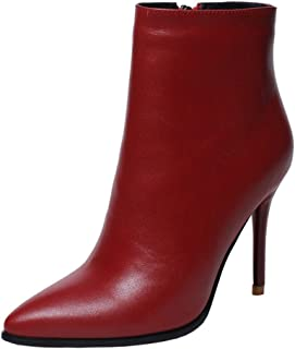Best ladies red leather ankle boots Reviews