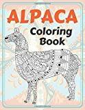 Alpaca - Coloring Book