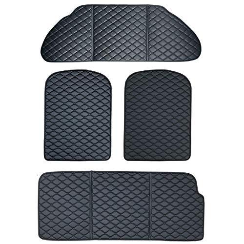 topfit Model X Kofferraummatten Cargo Liner Kofferraummatte Teppich und Sitzlehnenschutz für Model X 6/7 Sitz