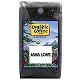 The Organic Coffee Co Java Love Whole Bean, 2 Pound Bag, USDA Organic Whole Bean Premium Coffee, For...