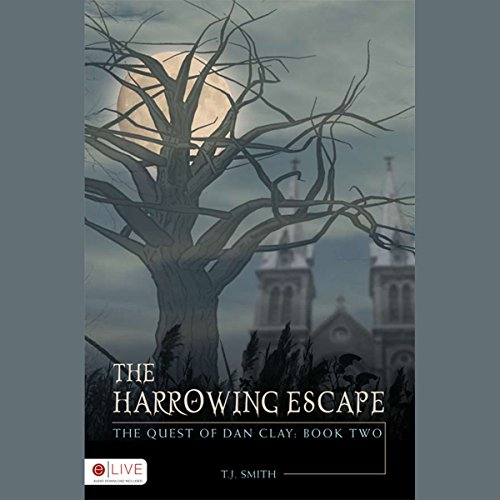 The Harrowing Escape audiobook cover art