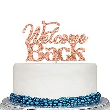 welcome back cake