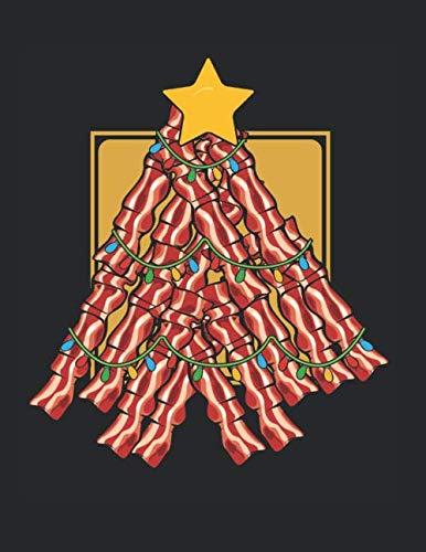 Speck Weihnachtsbaum Frohe Weihnachten Grillen: A4+ Softcover 120 beschreibbare karierte Seiten | 22 x 28 cm (8,5x11 Zoll)