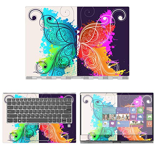 Decalrus - Protective Decal Butterfly Skin Sticker for Lenovo IdeaPad Flex Pro (14' Screen) case Cover wrap LEideapad14_Flexpro-5