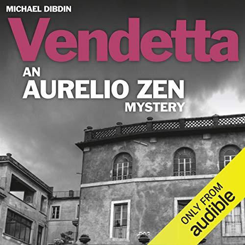 Aurelio Zen: Vendetta audiobook cover art