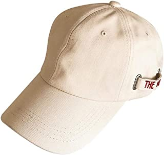 Hats Hip Hop Baseball Cap Wild Visor Leisure Travel Sunscreen Cap Three Color Optional Hat Fashion (Color : Beige, Size : F/56-59cm)
