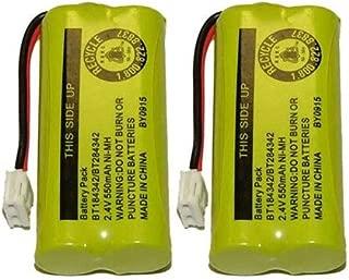 Axiom Rechargeable Battery For AT&T and Vtech Phones BT-8300 / BATT-6010 / BT18433 / BT184342 / BT28433 / BT284342 / 89-1326-00-00 / 89-1330-01-00 / CPH-515D (2-Pack)