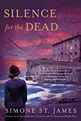 More Books By Simone St. James Silence for the Dead purple book cover with person wearing a har looking at a creepy building