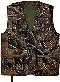 normani Outdoor Jagd- und Anglerweste mit vielen praktischen Taschen und Sonnenschutz Farbe Camouflage Größe M