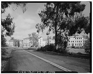 HistoricalFindings Photo: Mare Island Naval Shipyard,Hospital Headquarters,Johnson Lane,Vallejo,CA,HABS,2