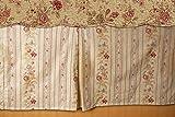 Greenland Home Antique Rose Bed Skirt, Full