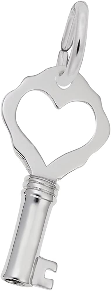 Rembrandt price Charms Key W Heart Plain Go in Available Pendant Genuine Charm