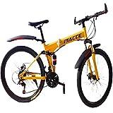 Maatrixx - Macce 1 (Foldable Bike), 21 Shimano Gears, 26 inch Wheel Size