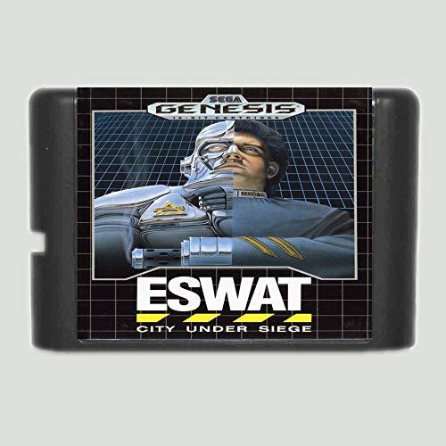 Nups Eswat 16 bit MD Game Card For Sega Mega Drive For Genesis