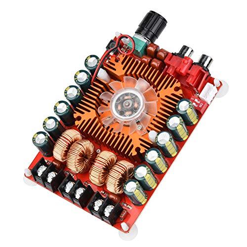 Germerse Módulo Amplificador de Potencia estéreo de Audio Digital, TDA7498E Altavoz de Alta Potencia 2x160W HiFi para Cine en casa de Audio para automóvil