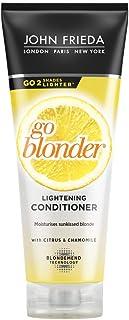 John Frieda Sheer Blonde Go Blonder, Condizionatore schiarente (versione inglese), 250ml