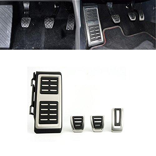 MT Pedalkappen für A3 8V S3 RS3 Octavia 5E Golf 7 VII Fußstütze Gaspedal Bremse Pedale Kupplung