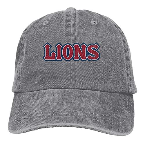 Lmu Loyola Marymount University Lions Casquette Classic Cowboy Hat Adjustable Baseball Cap Gray