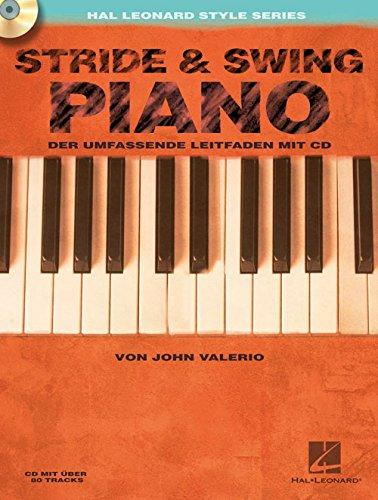 Stride & Swing Piano Piano +CD