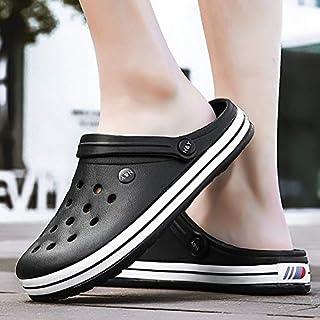Department Store Zuecos Zapatos de jardín Sandalias de playa Crocse Zapatillas de verano para piscina baño antideslizante ...