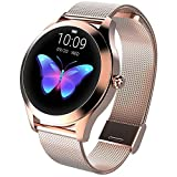 CUIFULI Smart Watches for iPhones IOS Android Smartwatch IP68 Waterproof Fitness Tackers Bluetooth